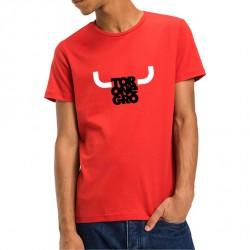 Camiseta toronegro cuernos