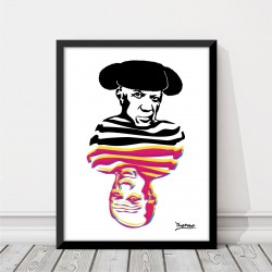 Lámina Picasso Torero