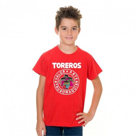 Camiseta Niño Toreros