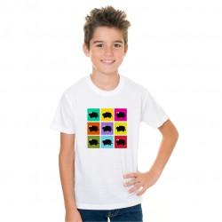Camiseta Niño Toritos Rayas