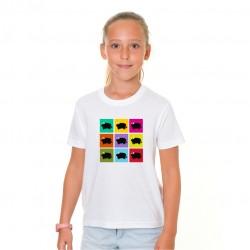 Camiseta Niña Toritos Colores