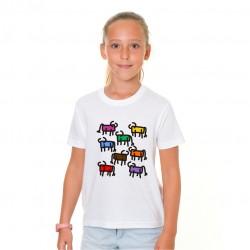 Camiseta Niña Toritos Rayas