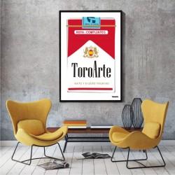 Lámina ToroArte Marlboro