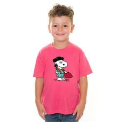 Camiseta Snoopi Torero