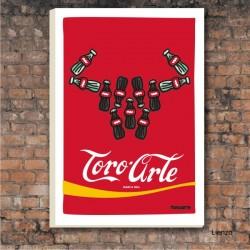 Lámina Toroarte Cocacola