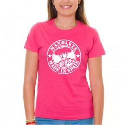 Camiseta chica Manolete
