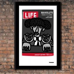 Lámina Manolete Life